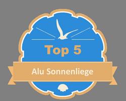 Top 5 – Alu Sonnenliege
