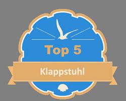 Top 5 – Klappstuhl